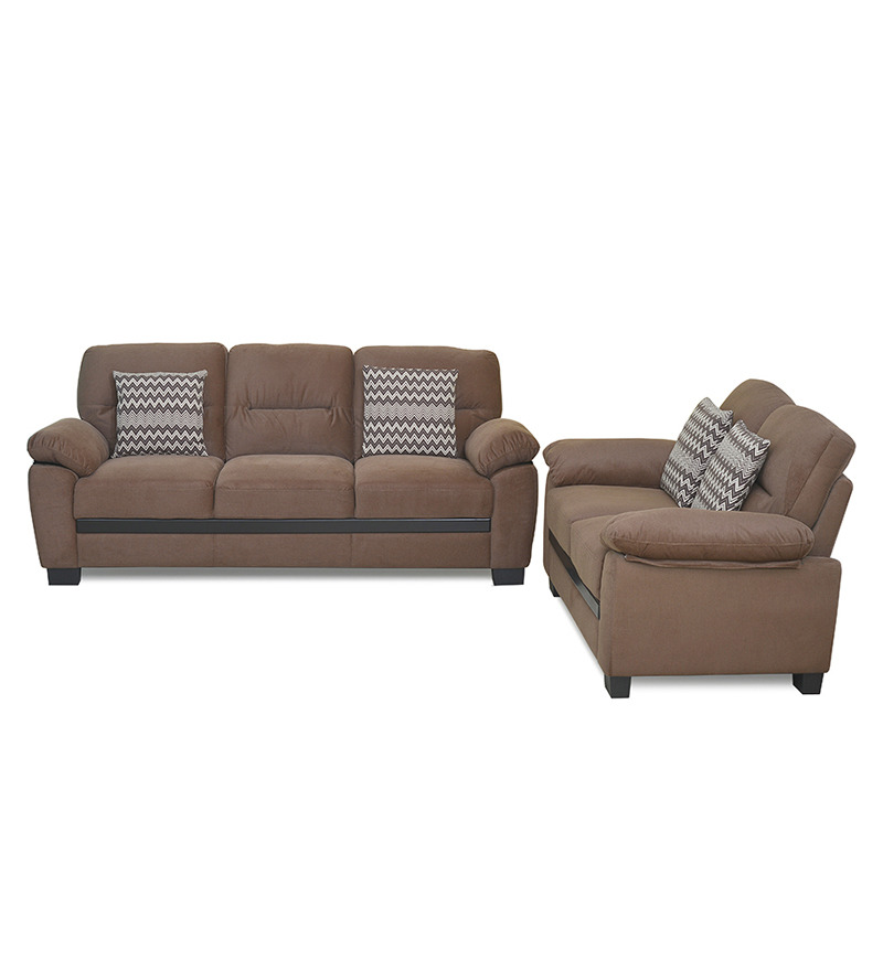 Home sarah 3 2 seater sofa set best deals with price for Home sofa set price