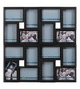 @ Home Black Poly Propylene Collage Photo Frame