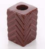 @ Home Brown Ceramic Asian Candle Holder