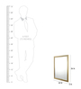 @ Home Gold MDF Decorative Mirror