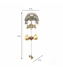 @ Home Multicolour Metal Magnet Bird Wind Chime
