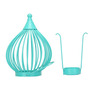 @Home by Nilkamal Teal Boond Hanging Tealight Holder