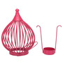 @Home by Nilkamal Pink Boond Hanging Tealight Holder