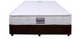 10 Inches Thick Bonnel Spring Pillow Top Mattress in Off-White Colour by Boston