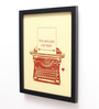 10am Wood & Canvas 8 x 0.5 x 10 Inch Just My Type Framed Digital Poster