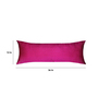 13 Odds Violet Silk 12 x 36 Inch Sprinkle Crystal Gradation Cushion Cover
