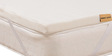 2 inch Thick Memory Foam Topper in Cream Color by Springtek Ortho Coir