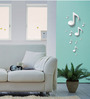 3D Illusion Effect Musical Notes Wall Decal by Autographix