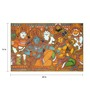 64Arts Canvas 24 x 16 Inch Mangala Kalyanam by Kerala Mural Art Unframed Digital Art Print