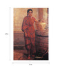 64Arts Canvas 16 x 24 Inch Mysore Lady by the Well by Raja Ravi Varma Unframed Digital Art Print