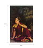 64Arts Canvas 16 x 24 Inch Radha Waiting for Krishna in Kunjavan by Raja Ravi Varma Unframed Digital Art Print