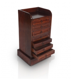 Rajputana Chest of Seven Drawers with a Table Top