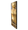 999Store Fibre 70 x 0.8 x 30 Inch Buddha Sitting Framed Art Panels - Set of 6