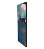 999Store Fibre 70 x 0.8 x 30 Inch Flower Stems Framed Art Panels - Set of 6