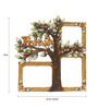 999Store Multicolor Wooden 16 x 18 Inch Handpainted Family Collage Photo Frame