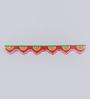 999Store Multicolour Wooden Handmade Bandanwar Toran