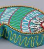999Store Multicolour Wooden Handmade Mukhwas Tilak Supari Kumkum Sindoor Dibbi Box