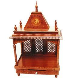 Aarsun Woods Brown Wooden Durable Temple