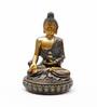 Aapno Rajasthan Gold Resin Charming Buddha Idol Showpiece