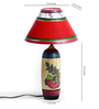 Aapno Rajasthan Multicolour Cotton Table Lamp