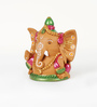 Aapno Rajasthan Multicolour Terracotta Big Ear Ganesh
