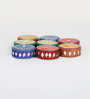 Aapno Rajasthan Multicolour Wax Lacquer Candle Diyas - Set of 8