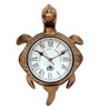 Abbots Wall Clock in Brown by Amberville