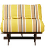Abby Futon Single Bed Green by Hometown
