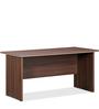 Absolute Table in Acacia Dark & Satin Finish Beading by Debono