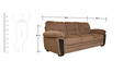 Acho Fabric Three Seater Sofa in Brown Colour by HomeTown