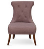 Accent Chair in Chocolate Coffee Colour by FurnitureTech