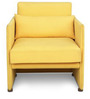 Accent Chair in Yellow Colour by FurnitureTech
