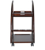 Acer Serving Trolley in Rich Brown Colour by HomeTown