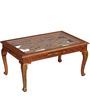 Aravinda - Painted Coffee Table by Mudramark