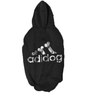 Adidog Dazling Dog hoodie in Black and Silver (Size 20)