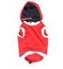 Adidog Dazling Dog hoodie in Red and Blue (Size 28)