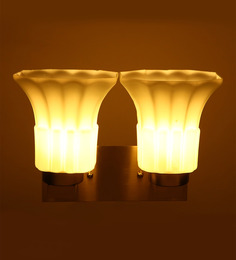 Aesthetichs Contemporary Wall Light With 2 Lamp Shades