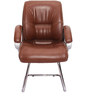 Aeron Ergonomic Medium Back Chair in Brown Color By VJ Interior
