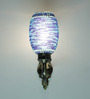 Swapneeli Wall Light in Blue by Mudramark