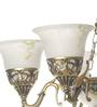 Arlington Chandelier in White by Amberville