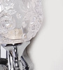 Curitiba Wall Light in Transparent by CasaCraft