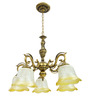 Barlow Chandelier in White by Amberville