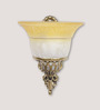 Bampton Wall Light in White by Amberville