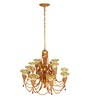 Bertoli Chandelier in White by Amberville