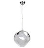 Cantrell Ceiling Lamp in Chrome by Bohemiana