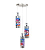 Aesthetics Home Solution Mickey Multicolor Glass Kids Lighting