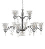 Arundel Chandelier in White by Amberville