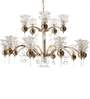 Arnot Chandelier in Transparent by Amberville