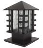 Aesthetics Home Solution Black Gate Light