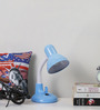 Elena Study Lamp in Blue by CasaCraft